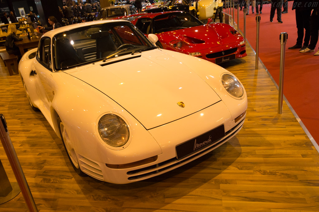 Porsche 959 Komfort  - Entrant: Movendi  - 2017 Retromobile