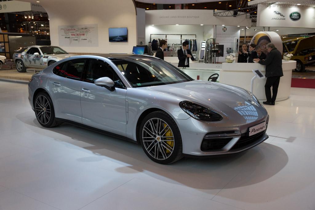 Porsche Panamera  - Entrant: Porsche Classic  - 2017 Retromobile