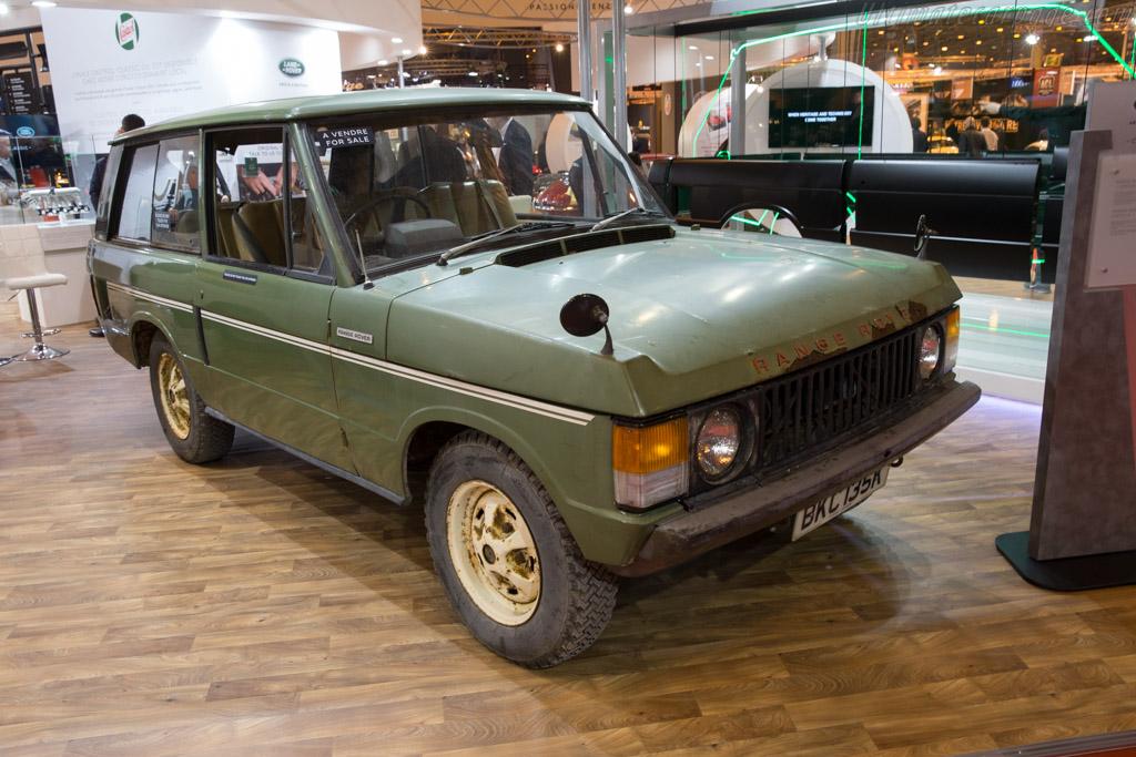 Range Rover  - Entrant: Jaguar Land Rover  - 2017 Retromobile