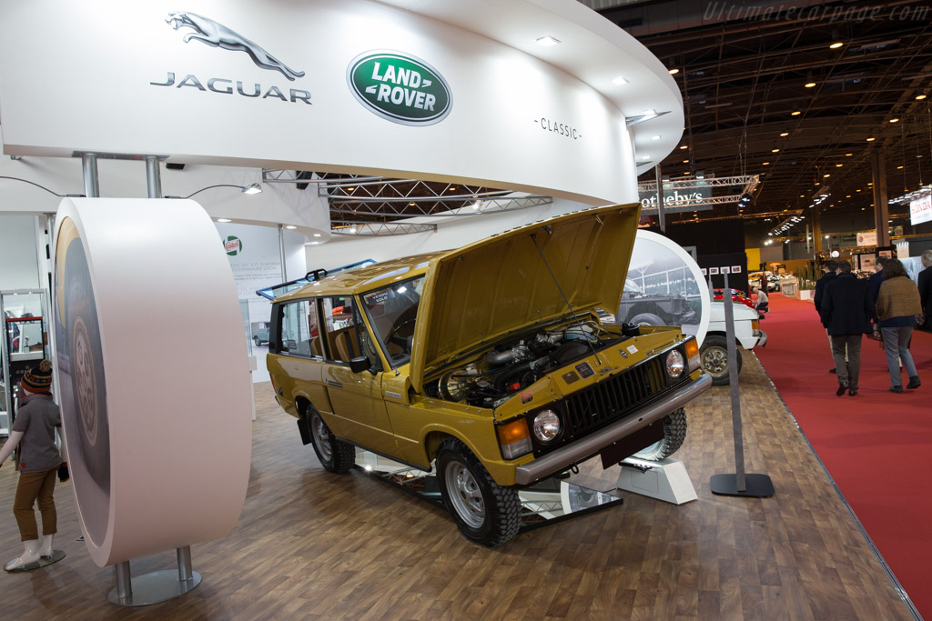 Range Rover Factory Restored  - Entrant: Jaguar Land Rover  - 2017 Retromobile