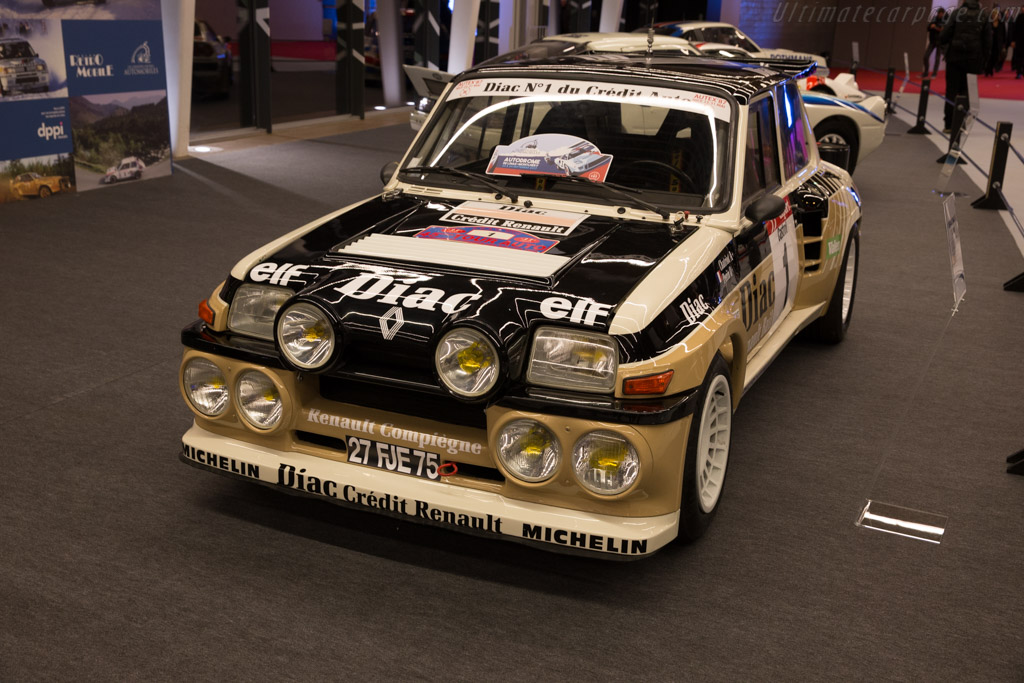 1985 1986 renault 5 turbo maxi images specifications and information. Black Bedroom Furniture Sets. Home Design Ideas