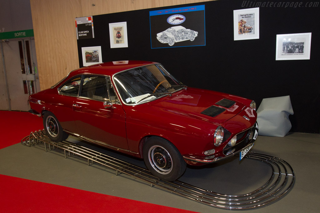 Simca 1200 S Coupe    - 2017 Retromobile