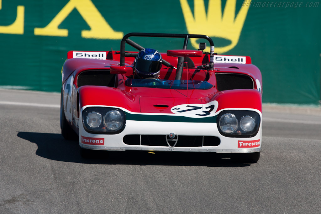 Alfa Romeo 33/3    - 2010 Monterey Motorsports Reunion