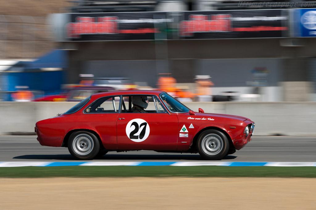 Alfa Romeo GTA    - 2010 Monterey Motorsports Reunion