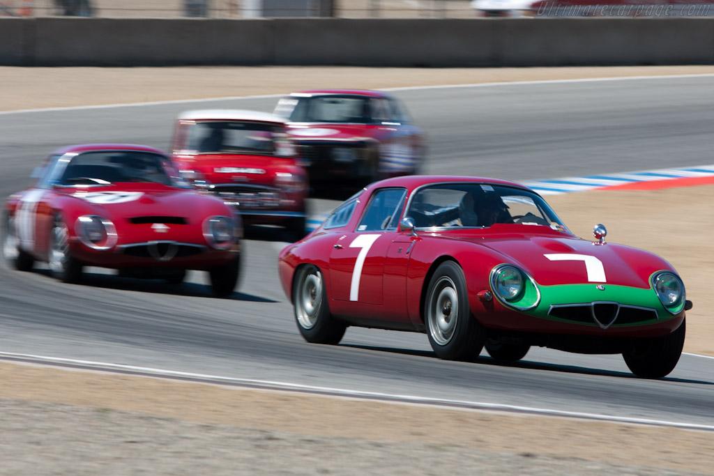 Alfa Romeo TZ - Chassis: AR750060   - 2010 Monterey Motorsports Reunion