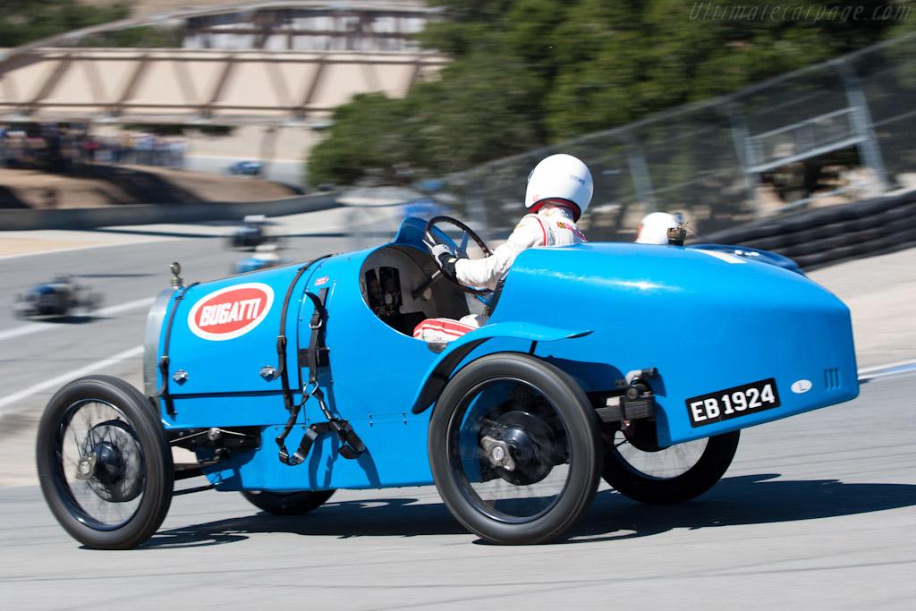 Bugatti Type 13    - 2010 Monterey Motorsports Reunion