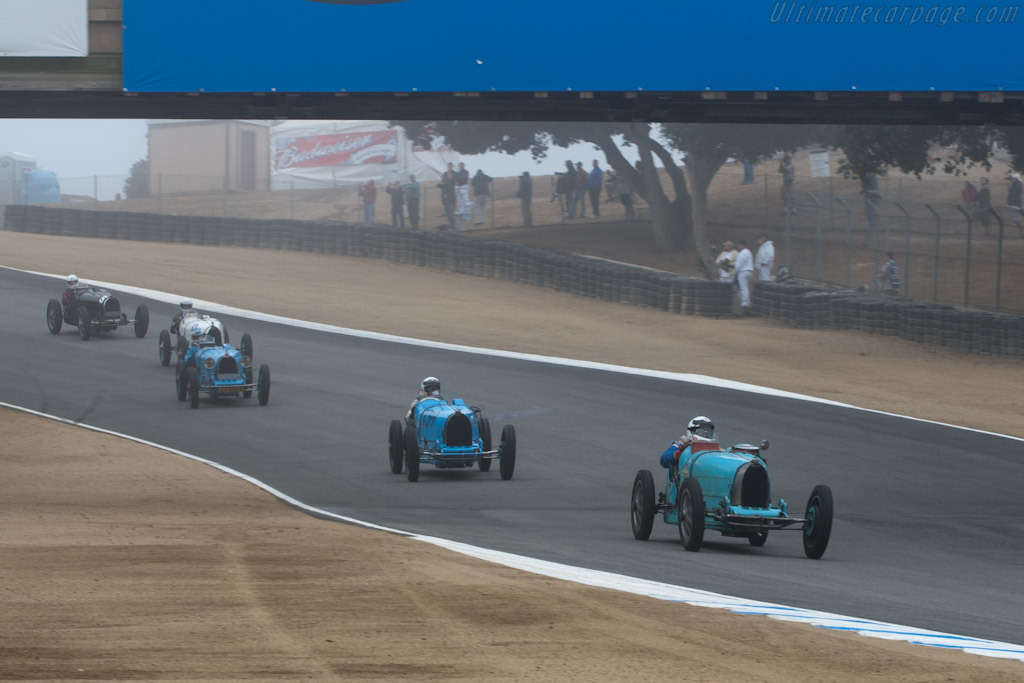 Bugatti Type 35    - 2010 Monterey Motorsports Reunion