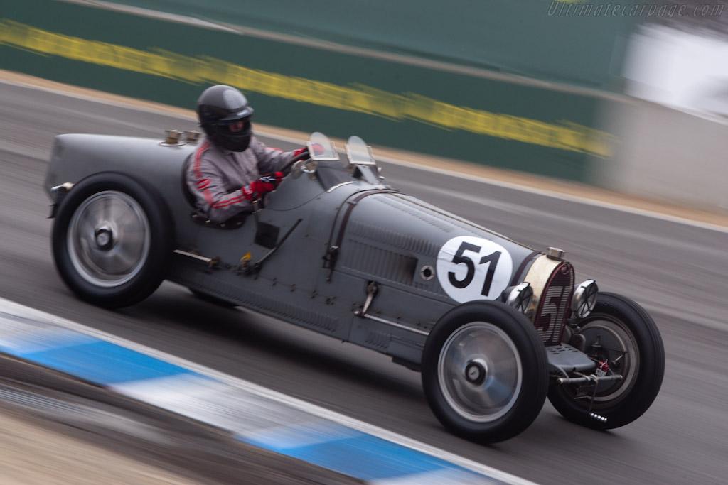 Bugatti Type 51    - 2010 Monterey Motorsports Reunion