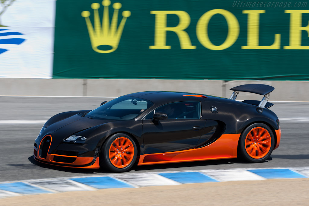 Bugatti Veyron 16.4 Super Sport - Chassis: VF9NG252X1M795023   - 2010 Monterey Motorsports Reunion