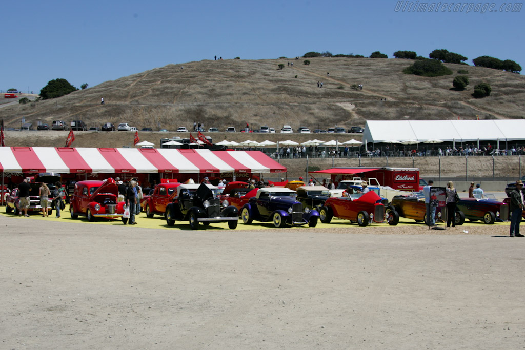 Edelbrock display    - 2010 Monterey Motorsports Reunion