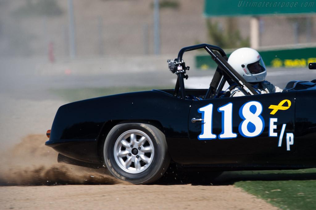 Elva Courier Mk IV    - 2010 Monterey Motorsports Reunion