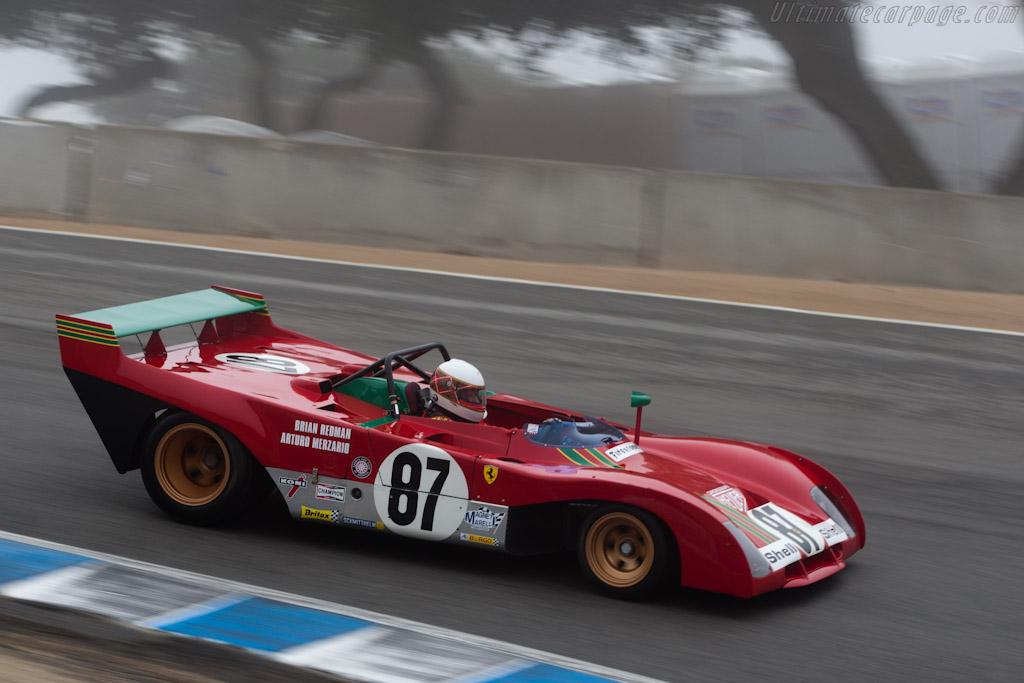 Ferrari 312 PB - Chassis: 0892 - Driver: Steven Read  - 2010 Monterey Motorsports Reunion