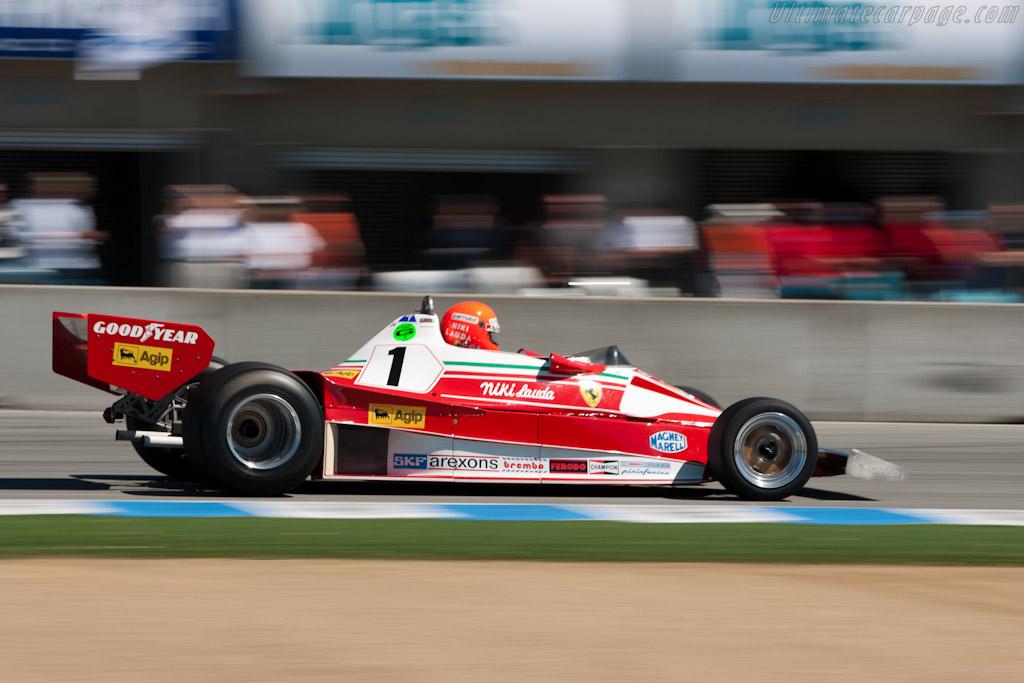 Ferrari 312 T2 - Chassis: 026   - 2010 Monterey Motorsports Reunion