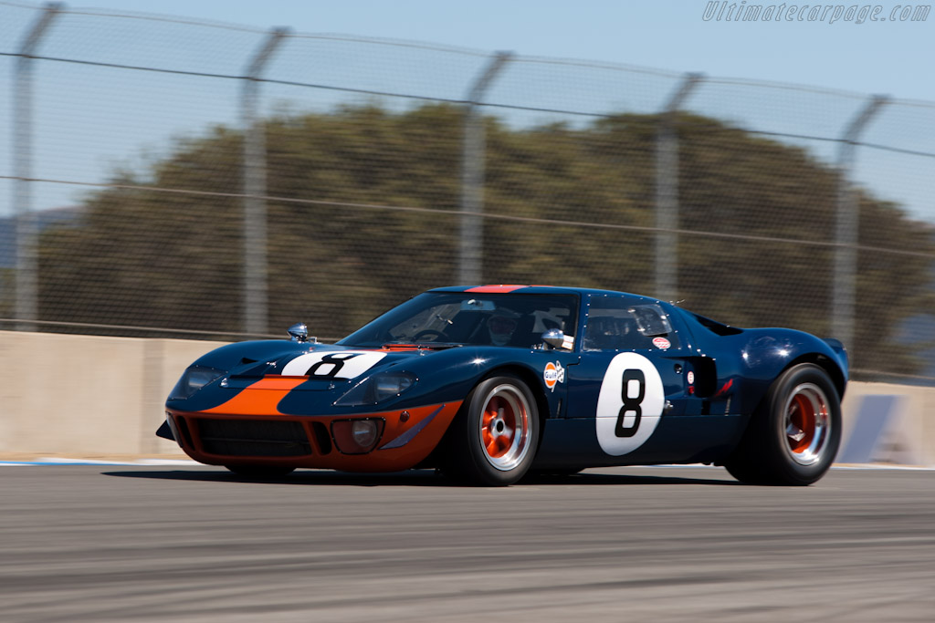 Ford GT40 - Chassis: GT40P/1051 - Driver: Chris MacAllister  - 2010 Monterey Motorsports Reunion