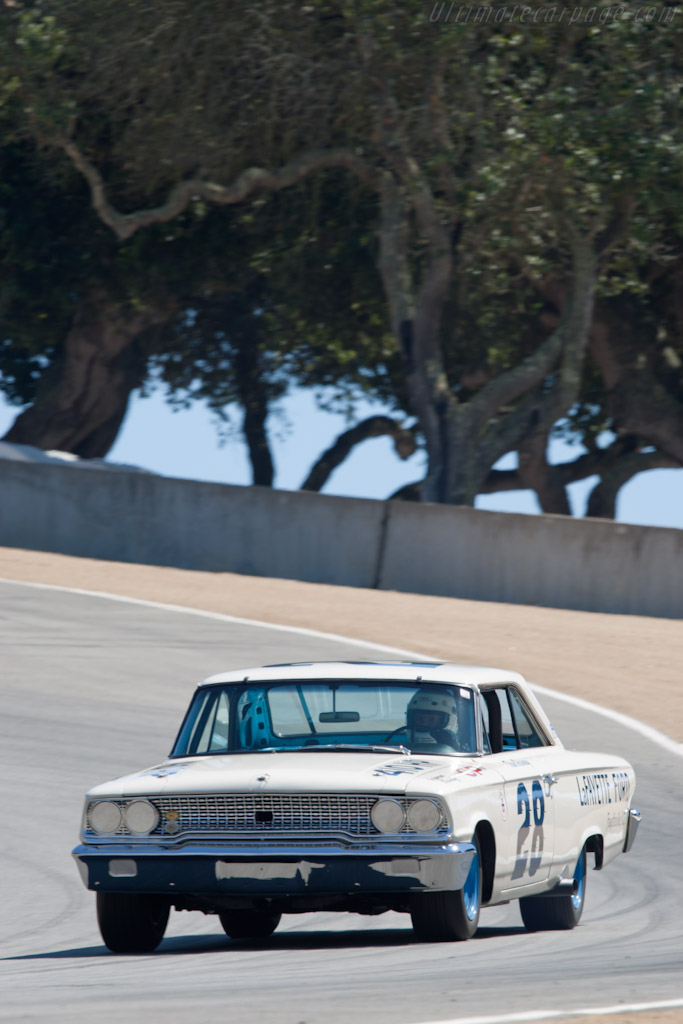 Ford Galaxie    - 2010 Monterey Motorsports Reunion
