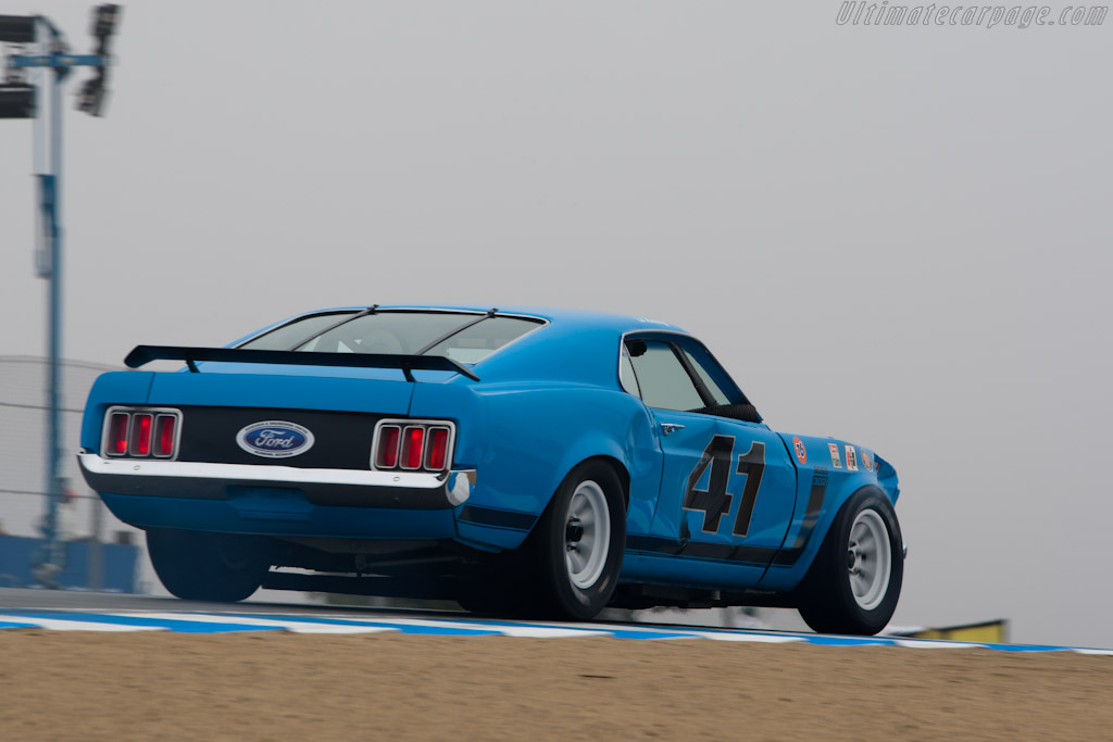 Ford Mustang Boss 302    - 2010 Monterey Motorsports Reunion