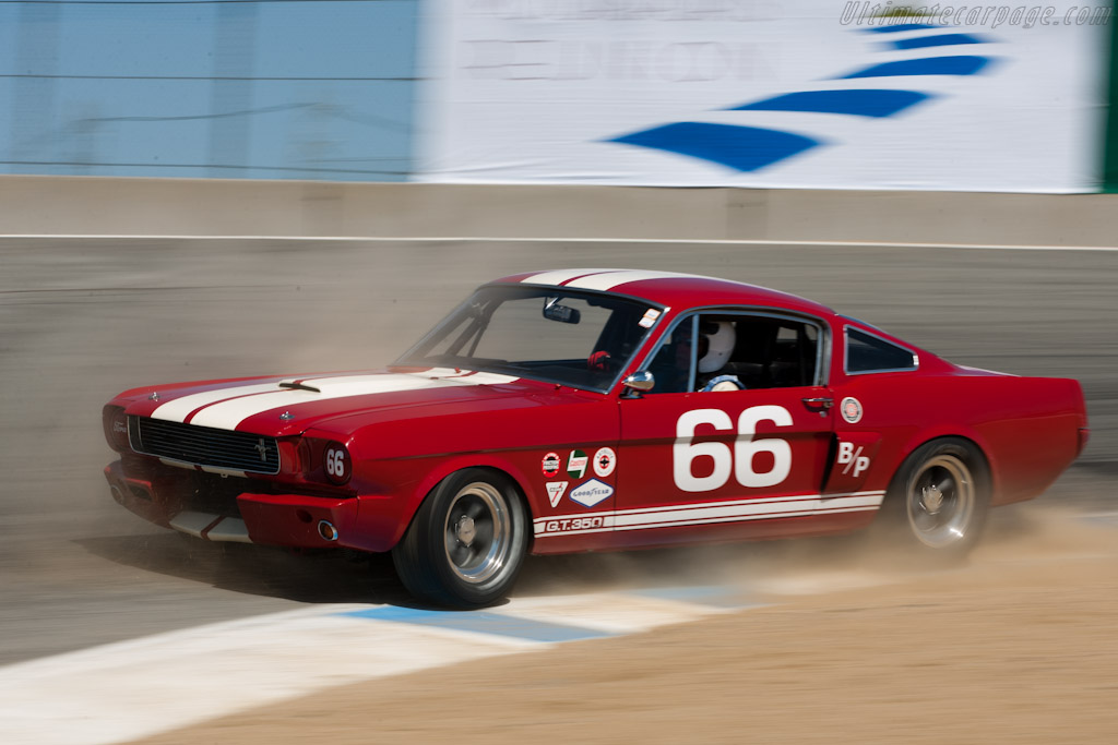 Ford Shelby Mustang Gt350 2010 Monterey Motorsports Reunion