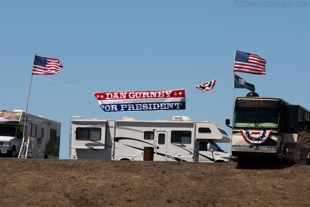 Gurney for President   - 2010 Monterey Motorsports Reunion
