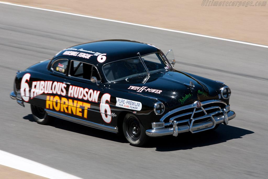 Hudson Hornet    - 2010 Monterey Motorsports Reunion