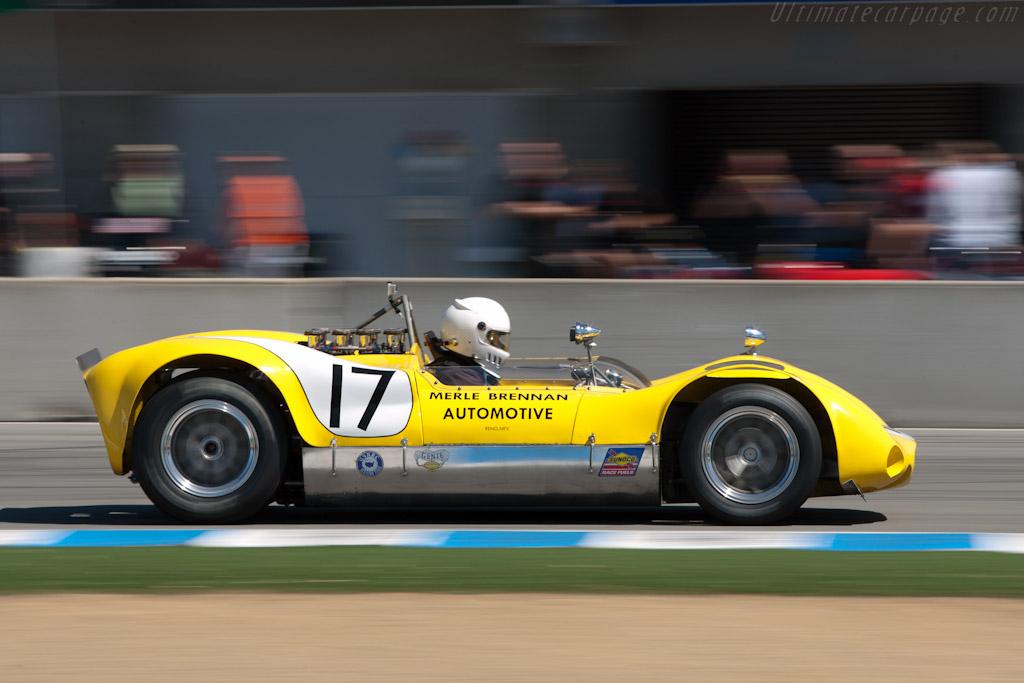 Huffaker Genie Mk10B    - 2010 Monterey Motorsports Reunion