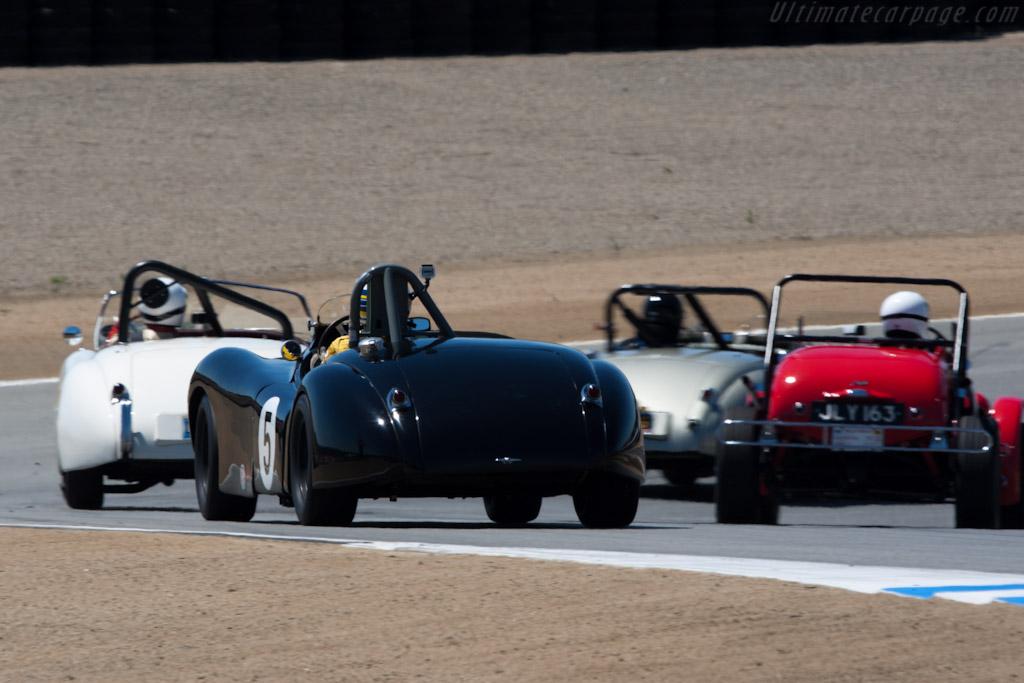 Jaguar XK120    - 2010 Monterey Motorsports Reunion