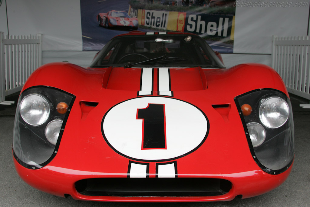Le Mans winning Ford GT Mk IV - Chassis: J-5  - 2010 Monterey Motorsports Reunion