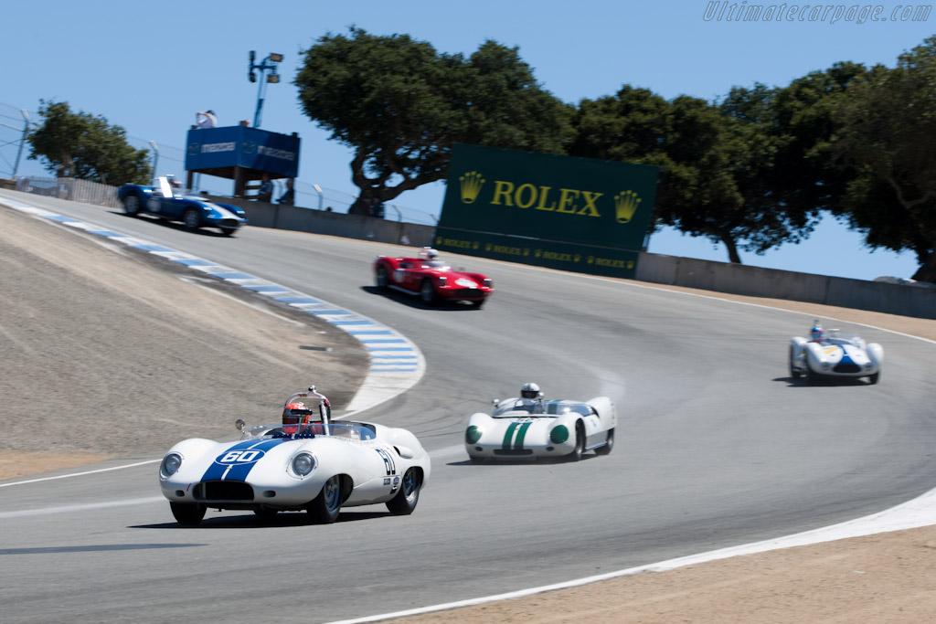 Lister Costin Jaguar    - 2010 Monterey Motorsports Reunion