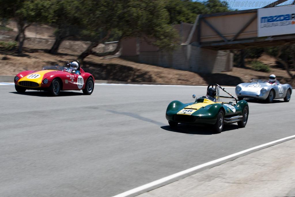 Lister Maserati    - 2010 Monterey Motorsports Reunion