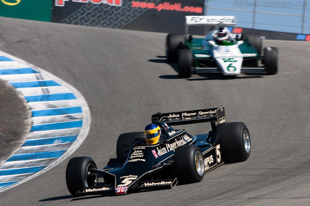 Lotus 79 - Chassis: 79/4 - Driver: Duncan Dayton  - 2010 Monterey Motorsports Reunion