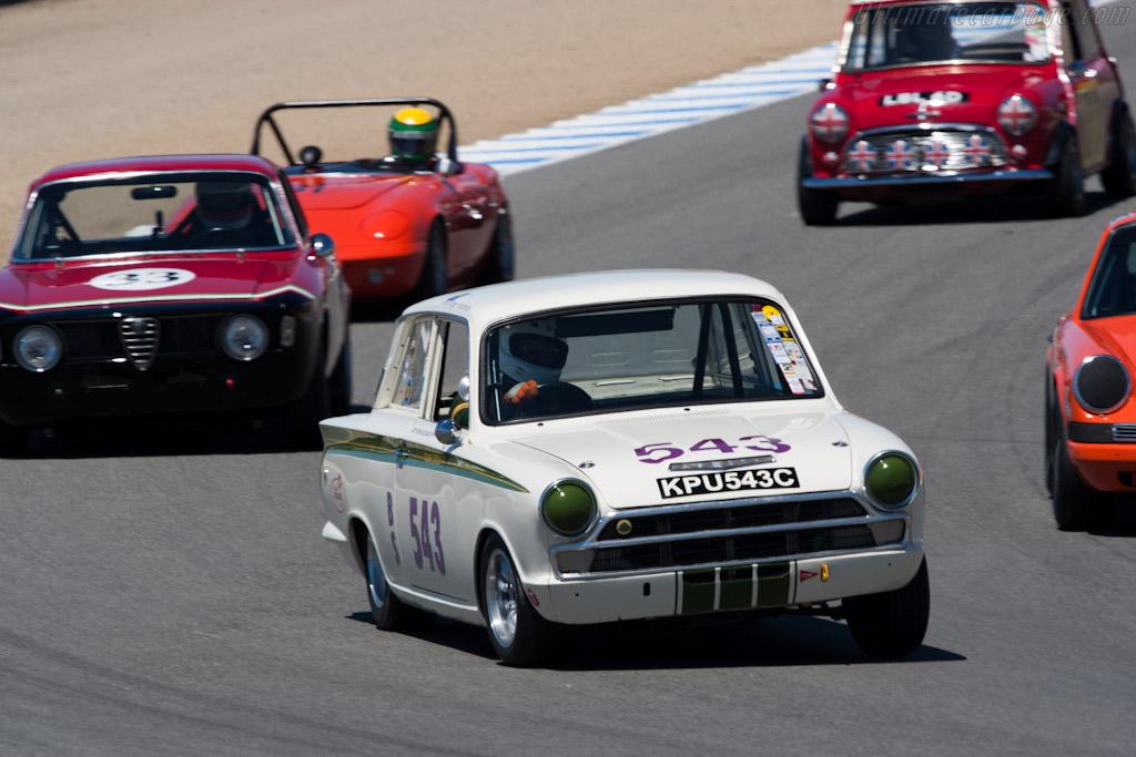 Lotus Cortina    - 2010 Monterey Motorsports Reunion