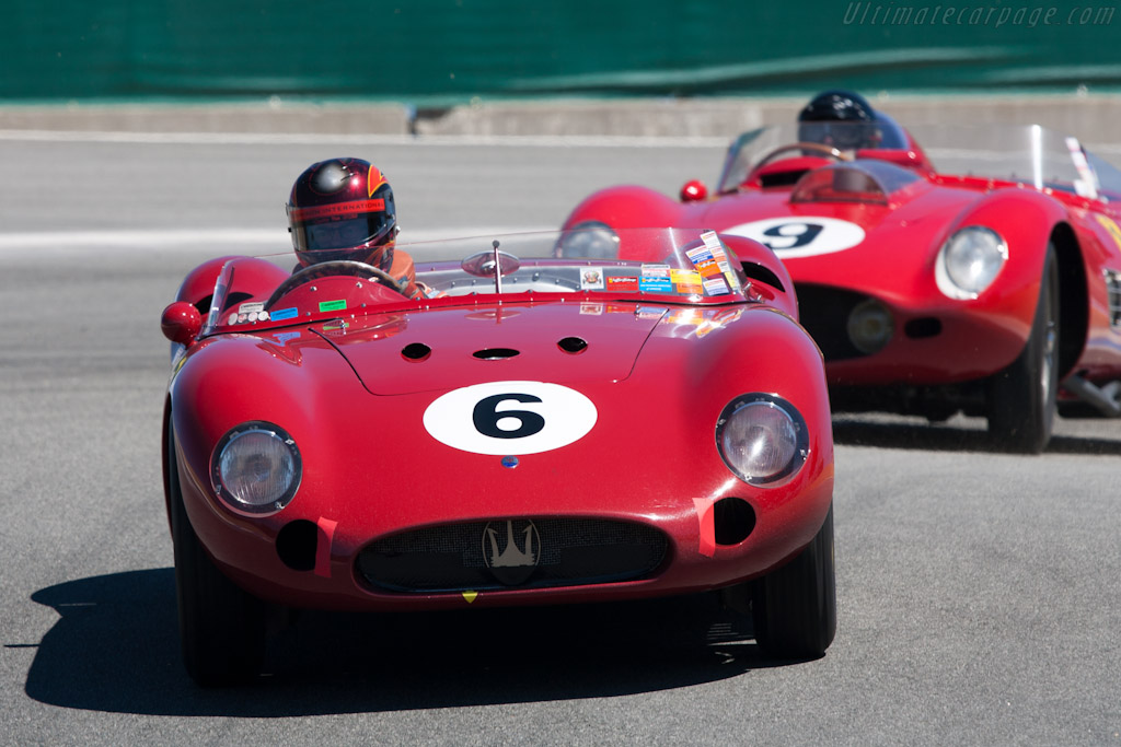 Maserati 300S - Chassis: 3072   - 2010 Monterey Motorsports Reunion