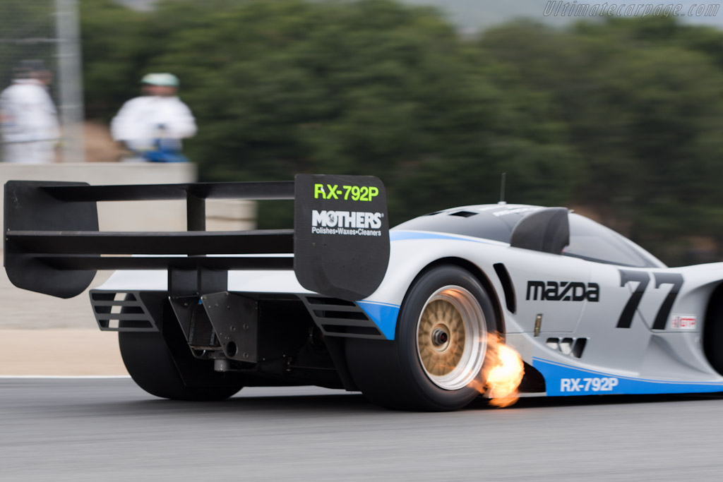 Mazda Rx 792p Chassis Gtp 001 2010 Monterey