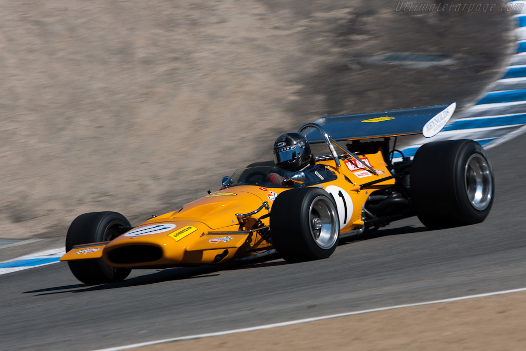 McLaren M14A Cosworth - Chassis: M14A/3  - 2010 Monterey Motorsports Reunion