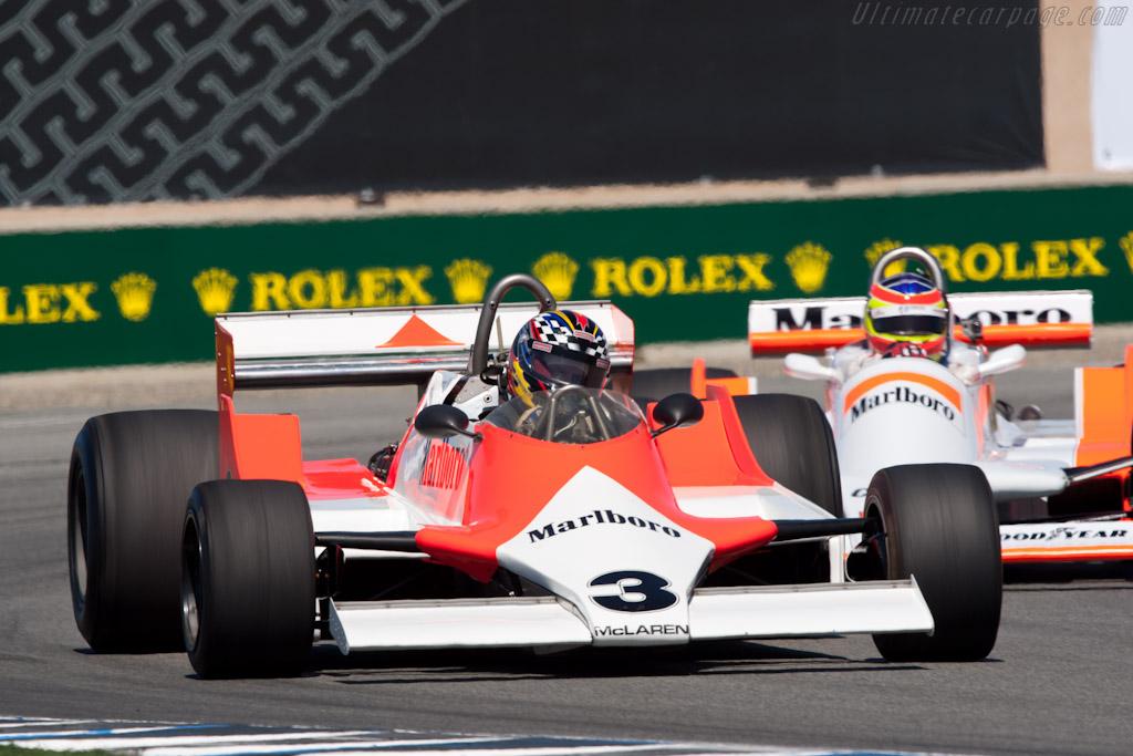 McLaren M29 - Chassis: M29-4   - 2010 Monterey Motorsports Reunion