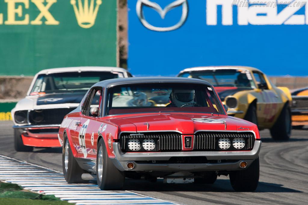 Mercury Cougar    - 2010 Monterey Motorsports Reunion