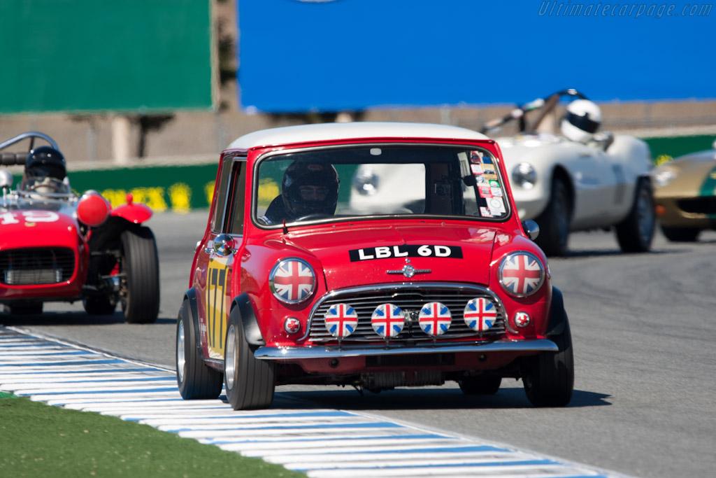 Mini Cooper S    - 2010 Monterey Motorsports Reunion