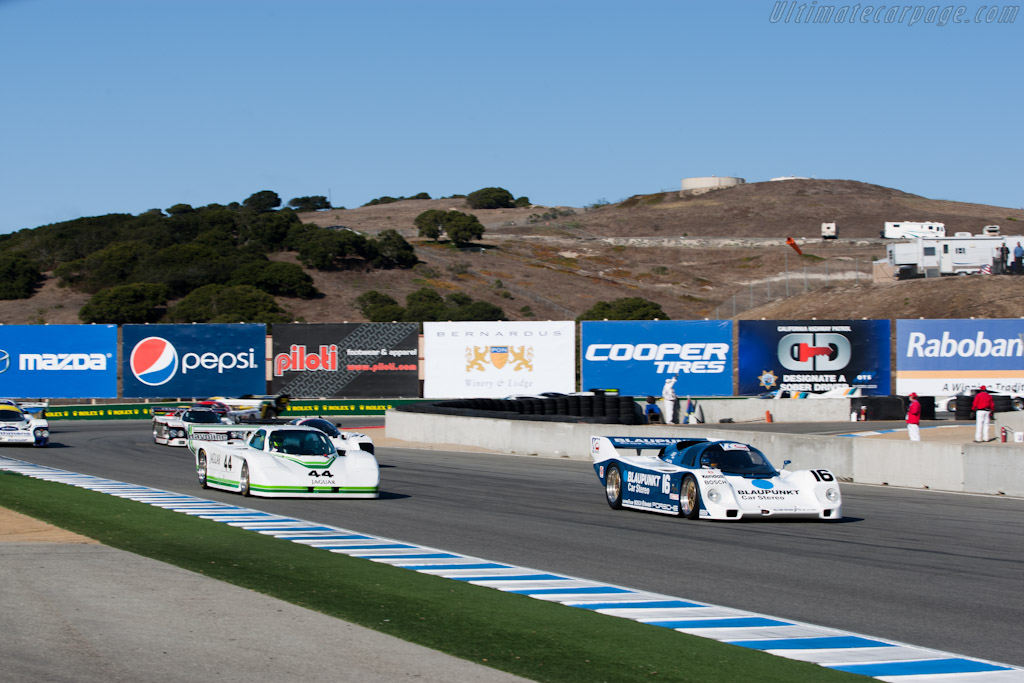 Off they go    - 2010 Monterey Motorsports Reunion