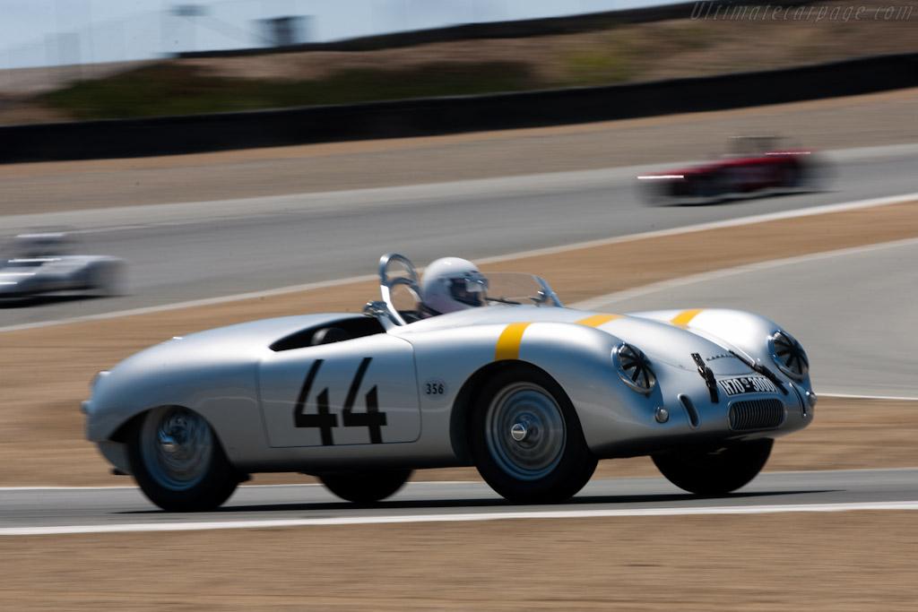 Porsche 356 Glockler Spider - Chassis: 10447   - 2010 Monterey Motorsports Reunion