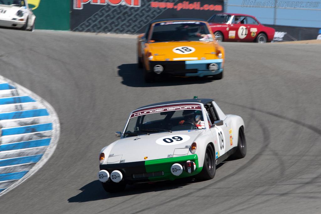 Porsche 914/6    - 2010 Monterey Motorsports Reunion