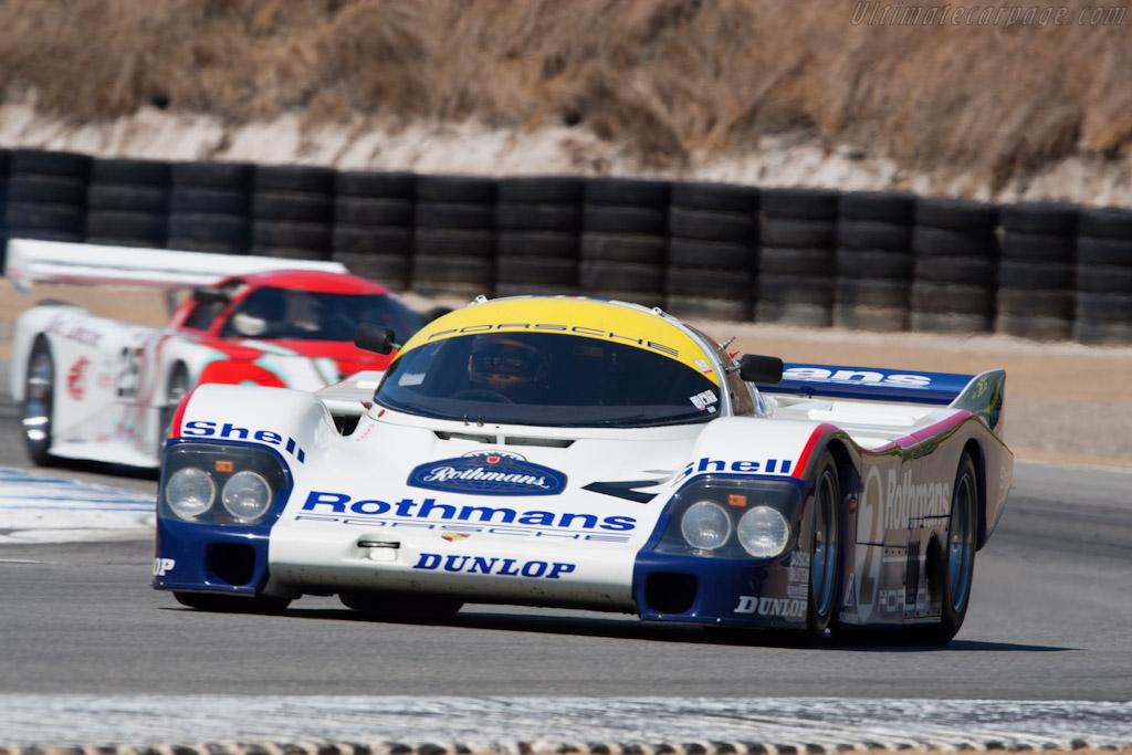 Porsche 956 - Chassis: 956-006   - 2010 Monterey Motorsports Reunion