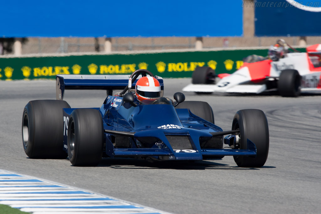 Shadow DN9B Cosworth - Chassis: DN9/3B  - 2010 Monterey Motorsports Reunion