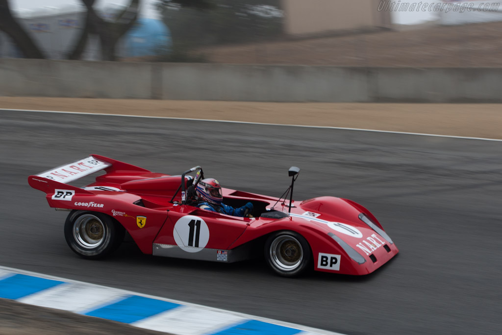 Sparling Ferrari 'Flying Shingle'    - 2010 Monterey Motorsports Reunion