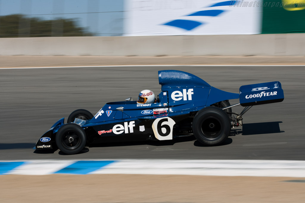 Tyrrell 006 - Chassis: 006 - Driver: John Delane  - 2010 Monterey Motorsports Reunion