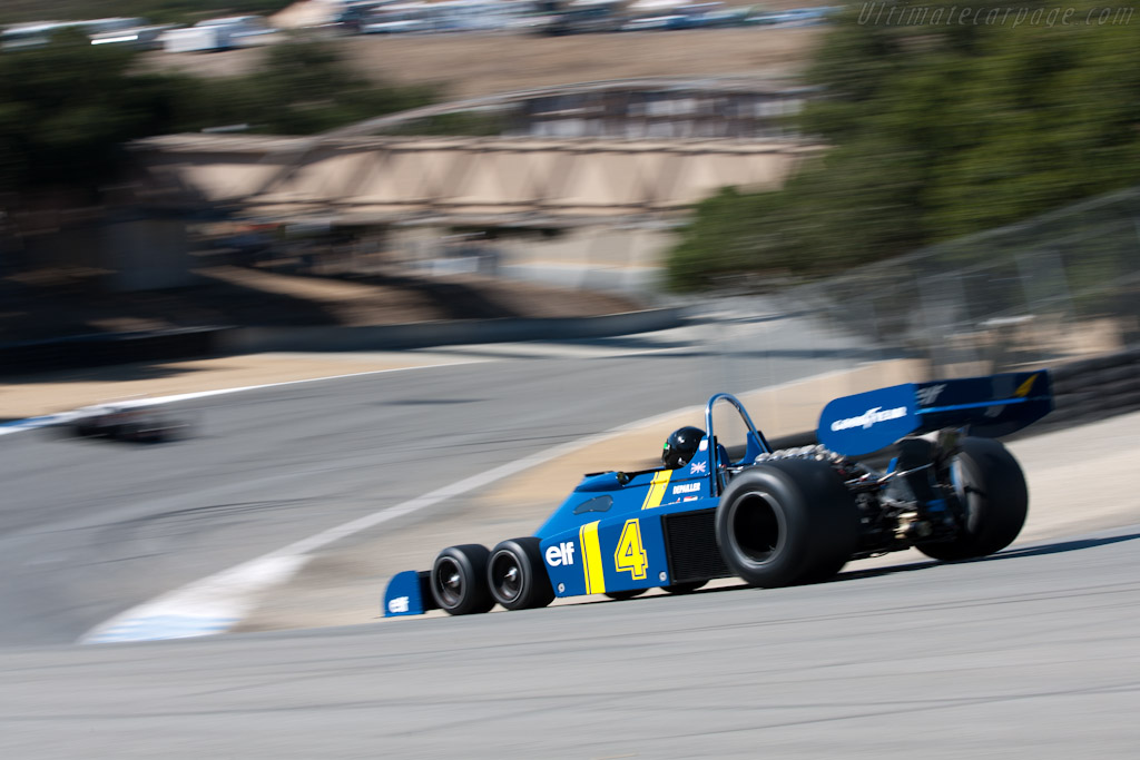 Tyrrell P34 - Chassis: P34/8  - 2010 Monterey Motorsports Reunion