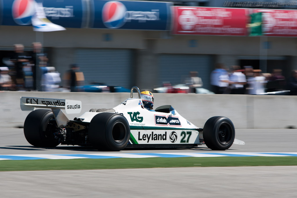 Williams FW07B Cosworth - Chassis: FW07B/06 - Driver: Charles Nearburg  - 2010 Monterey Motorsports Reunion