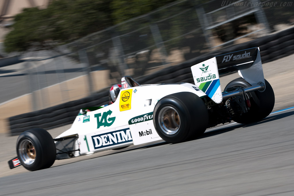 Williams FW08C Cosworth    - 2010 Monterey Motorsports Reunion