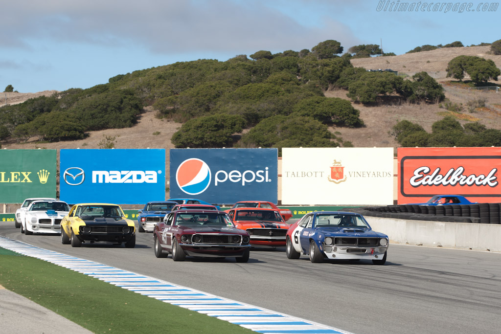 AMC Javelin    - 2011 Monterey Motorsports Reunion