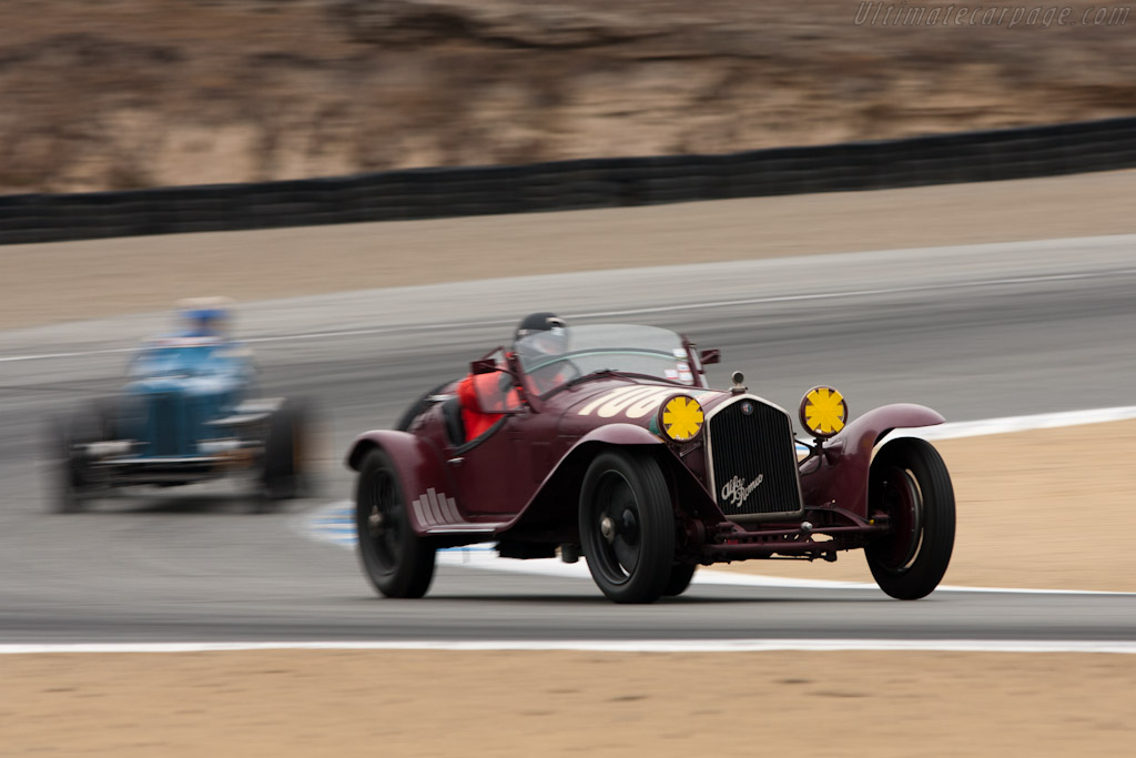 Alfa Romeo 8C 2300 MM    - 2011 Monterey Motorsports Reunion