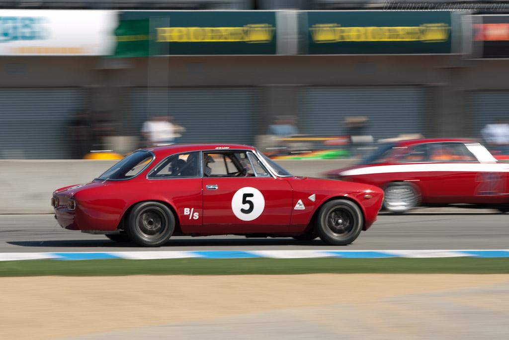 Alfa Romeo Giulia Sprint GT    - 2011 Monterey Motorsports Reunion