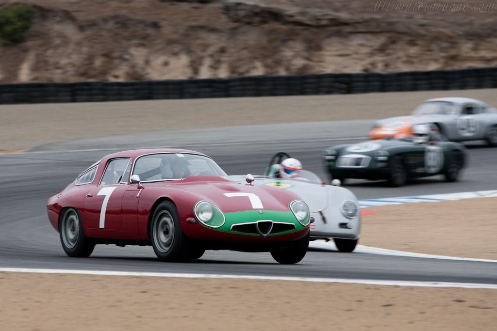 Alfa Romeo TZ - Chassis: AR750060   - 2011 Monterey Motorsports Reunion